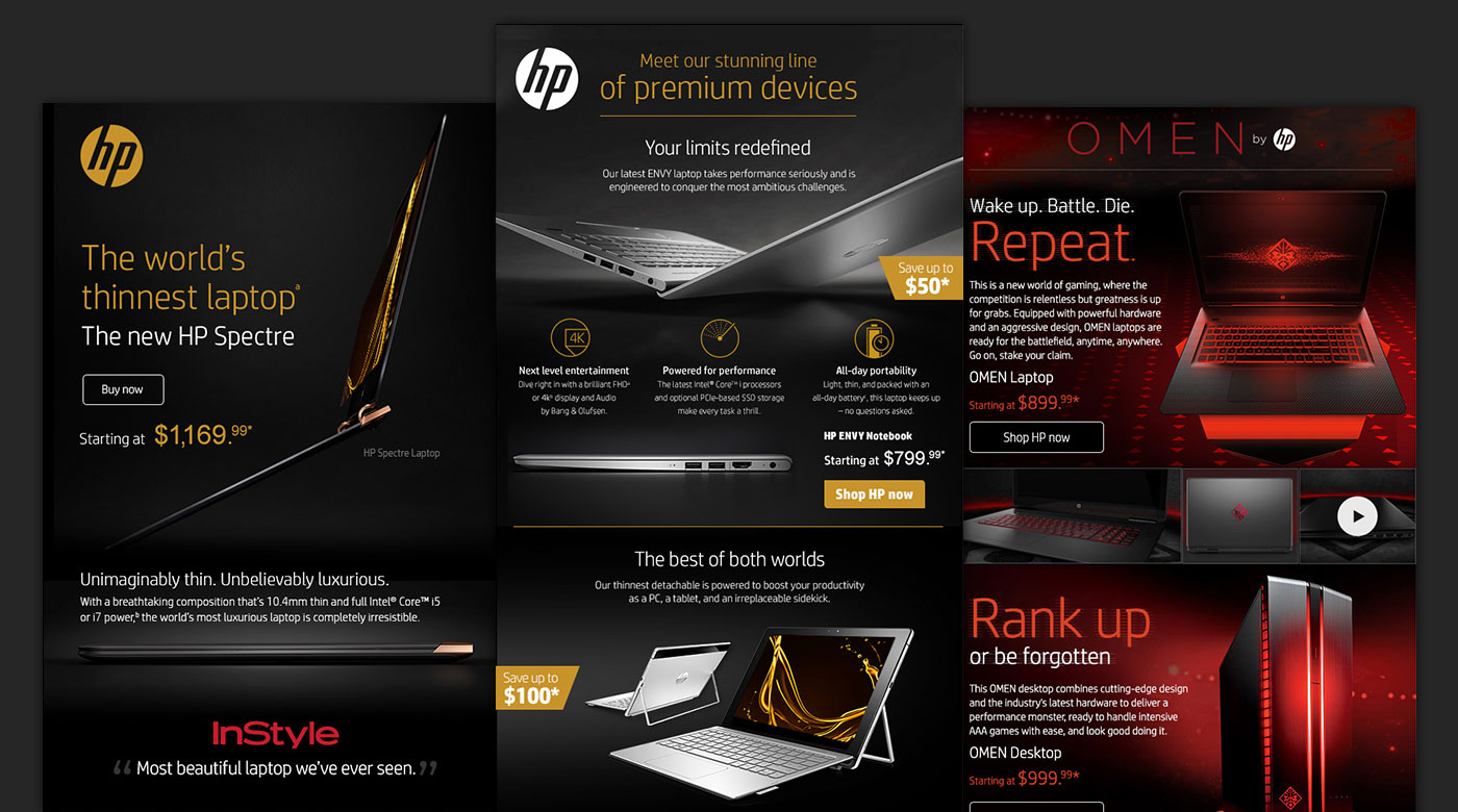 HP Email Campaigns